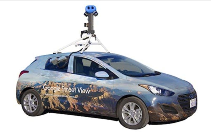 ▲[ストリートビュー撮影車]:GoogleマップHPより引用