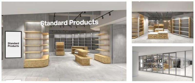 ▲Standard Products by DAISO 店舗イメージ:株式会社大創産業ニュースリリースより