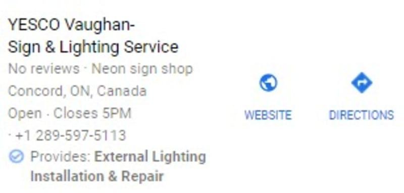 サービスの強調表示