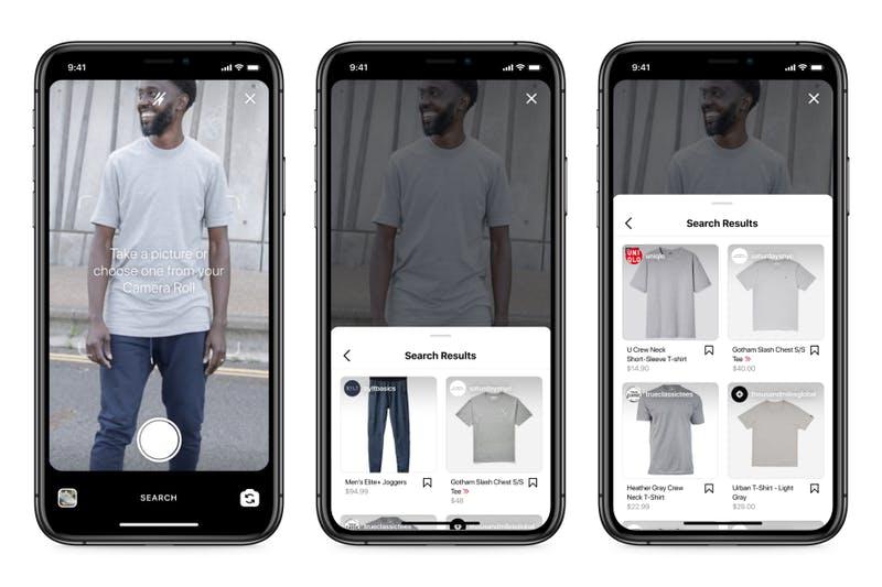商品の画像検索機能