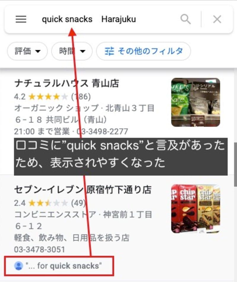 外国語口コミによるローカル検索結果への影響