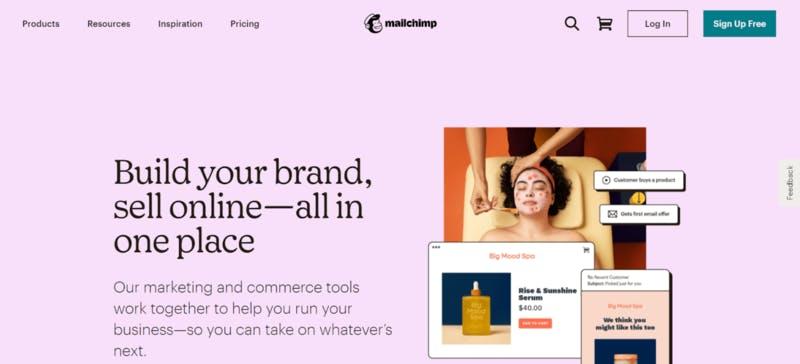 MailChimp公式サイト