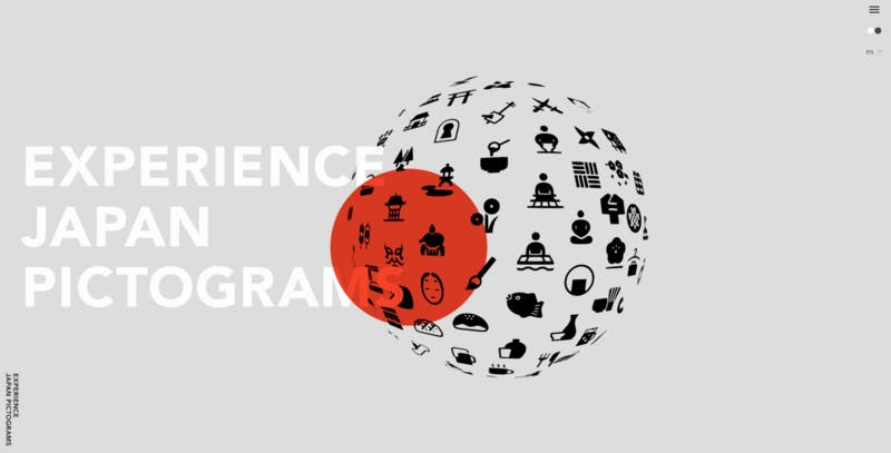 EXPERIENCE JAPAN PICTOGRAMS公式サイト
