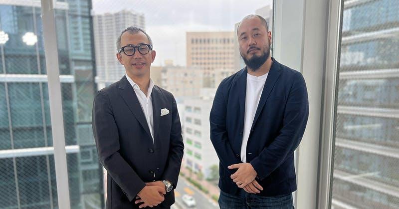株式会社mov 代表取締役 渡邊 誠(右)と株式会社ONE COMPATH代表取締役社長CEO早川 礼(左) ONE COMPATHのオンラインイベント「Retail Compath #2」にて